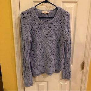 LOFT light blue sweater